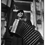 "Accordian Player from ""Russian Photographs"""