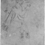 """Portrait inscribed """"Javaji-Nada Gaulji"""""""