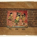 Kichaka and Bhimasena, Folio from a Dispersed Mahabharata Series