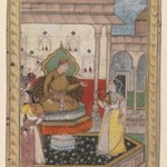Miniature Painting, Court Scene