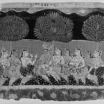 Krishna and the Gopis, Leaf from a Bhagavata Purana Series