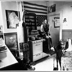 Janis Joplin in Her Apartment on Noe Street in the Upper Mission District of San Francisco