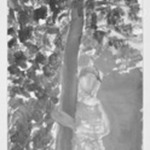 [Untitled] (Woman and Tree)