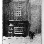 Snow, Rouen Street