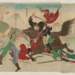 With the Permission of the Ministry of Home Affairs: Japanese Victory at the Battle of Asan (Naimushō kenetsu kyoka: Gazan fukin Wahei daishōri no zu)