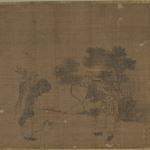 Album Leaf Painting: Hunters