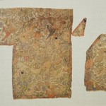 Textile Fragment with Pattern of Hunters and Falcons