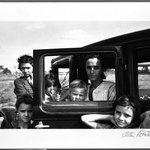 Migrant family, Oklahoma