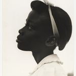 [Untitled] (Young Girl in Profile)