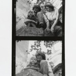 [Untitled] (Man and Woman with Child) (top exposure)  [Untitled] (Man with Child) (bottom exposure)