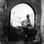 [Untitled] (Man on Donkey, North Africa)