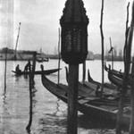 [Untitled] (Gondola Lamp, Venice)