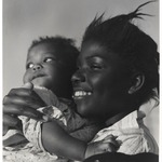 [Untitled] (Young Mother with Baby Girl, Florida)