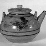 Shigaraki Ware Teapot and Lid