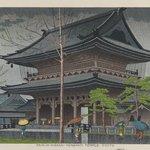 Rain in Higashi-Honganji Temple, Kyoto