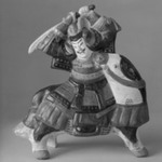 Tsuchi Ningyo (painted Clay Doll)