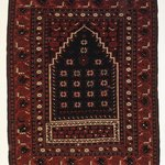 Bergama Type Prayer Carpet
