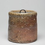Shigaraki Ware Mizusashi (Tea Ceremony Fresh Water Jar)