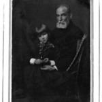 [Untitled] (Seated Portait of William Rand with Grandaughter Peggy Lee in Lap)