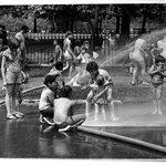 """""""Showers"""" Mullaly Park, Bronx, N.Y."""