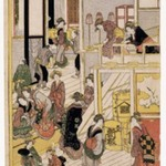 New Years Day at the Ogiya Brothel, Yoshiwara