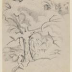 Three Figures Under a Tree