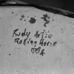 """""""Rolling Horse"""" Vase"""