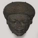 Face from the Lid of a Sarcophagus