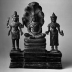 Buddha Mucalinda and Attendants