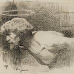 "Study for ""The Beheading of St. John the Baptist"""