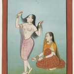 Miniature Painting - Lady at her Toilette