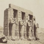 Ramesseum, Thebes (View of the southeast of the Second Court)