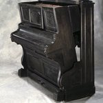 Convertible Bed in Form of Upright Piano