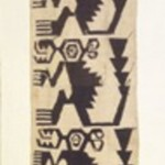 Textile Fragment with Monkeys