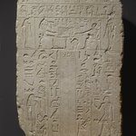 False-Door Stela of a Woman