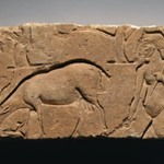 Relief Representation of Goatherd with Goat and Trees