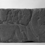 Relief Representation of Men with Horses
