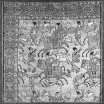 Textile Fragment of Hunting Scene