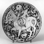 Bowl Depicting A Human-Headed Winged Quadruped, Possibly Buraq