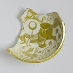 Fragment of a Bowl Depicting a Mounted Warrior