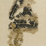 Textile Fragment Depicting a Speckled Deer