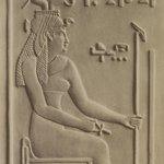 Isis a Denderah