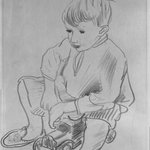 Seated Child