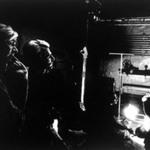 Warhol, Dylan and Malanga (Silhouette)