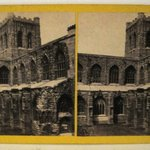 Stereograph: Chester Cathedral, Chester, England