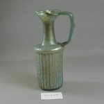 Jug with Vertical Molded Decoration