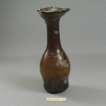 Jug of Molded Amber Glass