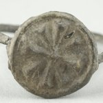 Finger Ring with Eight-Armed Cross