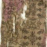 Fragment with Stylized Botanical Decoration