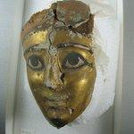 Gilded Mummy Mask